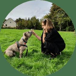Marie Thiry, éducatrice et comportementaliste canin à Rennes